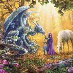 Ravensburger - 16580 - Dragon Whisperer-500 pc