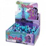 US Toy Company - 4646 - Squishy Dragon W Glitter Eyes (12 @ $0.95 Each)