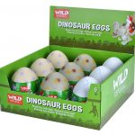 Wild Republic - 90418 - Dinosaur Eggs Display